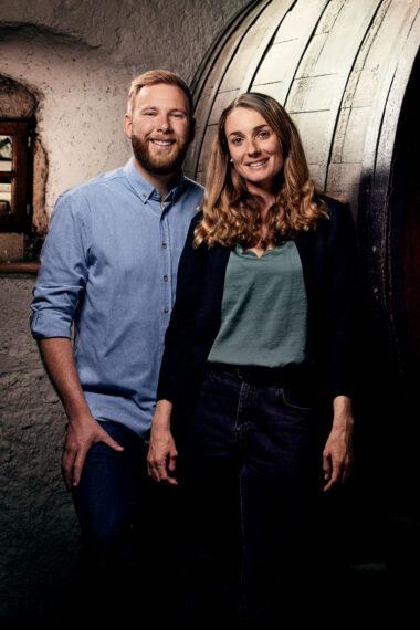 Weingut Frauenkopf: Nick und Rahel Bösiger